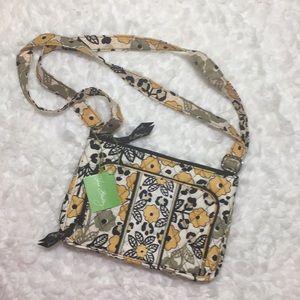 Vera Bradley Little Hipster yellow purse